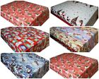 CHRISTMAS PVC TABLECLOTH WIPEABLE TABLE CLOTH COVER WIPE CLEAN VINYL OILCLOTH