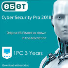 ESET Cyber Security PRO 6.7 Download edition 1 | 2 | 3 years 2019 for Mac