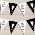Tuxedo Prom James Bond Birthday Bunting Garland Personalised Flag Banner $10.08 USD on eBay