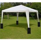 kit gazebo - 1/4 Pcs Leg Weights Sand Bags For Pop Up Canopy Kit Gazebo Outdoor Tent US