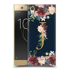 OFFICIAL NATURE MAGICK FLORAL MONOGRAM GOLD NAVY BACK CASE FOR SONY PHONES 1