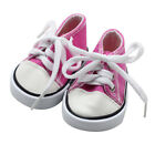 Doll Accessory Cloth Canvas Sneakers Shoes For 18 inch American Girl & Boy Doll