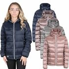 Trespass Bernadette Womens Pearlescent Padded Down Jacket Lightweight with Hood