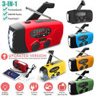 Внешний вид - Emergency Solar Hand Crank Dynamo AM/FM/WB/NOAA Weather Radio LED Torch Charger
