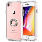 JETech Case for iPhone 8 and iPhone 7 Shockproof Bumper Cover with Ring Holder