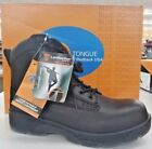 Blue Tongue Protector CT Black Boots Sizes 85  7 w Steel Toe
