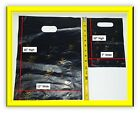LARGE DIE-CUT PLASTIC/SHOPPING/RETAIL BAGS W/HANDLE-
