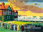 Vintage 1996 British Open Golf Royal Lytham Championship Poster Print A3/A4