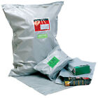 Grey Polythene Mailing Postal Bags - Choice of Sizes Available