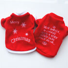 Внешний вид - Pet Dog Puppy Santa Christmas Clothes Costumes Winter Warm Jacket Coat Apparel