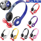 Over-ear Teens Kids Childs Foldable Dj Headphones 3.5mm Wired Game Earphones