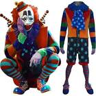 Unisex Animal World clown bonker costume circus outfit Halloween cosplay costume