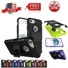 Cover For Apple iPhone 8 Case Plus 7 PlusHybrid ShockProof Kickstand Dual Layer