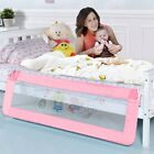 "69"" Breathable Baby Children Toddler Bed Rail Guard Safety Protection Swing Down"