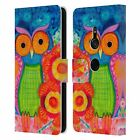 OFFICIAL WYANNE OWL 2 LEATHER BOOK WALLET CASE COVER FOR SONY PHONES 1
