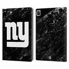 OFFICIAL NFL 2017/18 NEW YORK GIANTS LEATHER BOOK WALLET CASE FOR APPLE iPAD