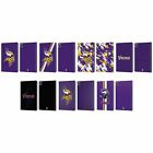 OFFICIAL NFL MINNESOTA VIKINGS LOGO LEATHER BOOK WALLET CASE FOR APPLE iPAD $24.46 USD on eBay