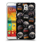 OFFICIAL AC/DC ACDC BUTTON PINS HARD BACK CASE FOR SAMSUNG PHONES 2