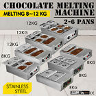 8~12KG Electric Chocolate Tempering Machine Accurate Shopping Mall 2~6 Pot