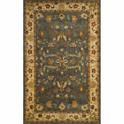Alcott Hill Eugenie Hand-Tufted Wool Sand/Stone Blue/Brown Area Rug