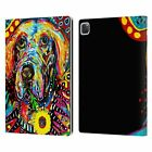 OFFICIAL MAD DOG ART GALLERY DOGS LEATHER BOOK WALLET CASE COVER FOR APPLE iPAD