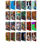 OFFICIAL MAD DOG ART GALLERY DOGS 2 LEATHER BOOK WALLET CASE FOR APPLE iPAD