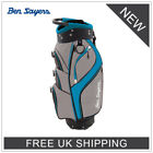 ***BEN SAYERS 'NEW 2019' DLX GOLF CART BAG - ALL COLOURS - 14-WAY TOP!!!***