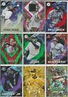 2017 Topps Fire Inserts & Base Set Singles You Pick Card Build lot Stars RC SP