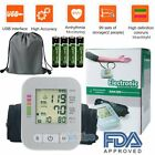 Full Automatic LCD Digital Upper Arm Blood Pressure Monitor w/ Voicing Function on eBay