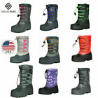 DREAM PAIRS Boys  Girls Kid Insulated Fur Winter Outdoor Waterproof Snow Boots