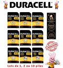 Piles Duracell CR 1220 1616 1620 1632 2016 2025 2032 2430 2450 bouton lithium 3V