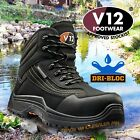 V12 CAIMAN Waterproof Hiker Safety Work Boots Composite Toe Midsole Metal Free