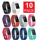 Внешний вид - 10 Pack Replacement Wristband For Fitbit Charge 2 Band Silicone Fitness Sport