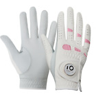 Golf Gloves Women Left Right Hand All Weather Cabretta Leather With Ball Marker