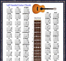 More images of LEFT HANDED GUITAR CHORDS POSTER 13X19 & 5 POSITION - LEFTY