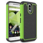 Motorola Moto G4 / G4 Plus Shockproof Hybrid Grid Armor Protective Case Cover