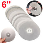 "Внешний вид - 6"" 150mm Diamond Coated Flat Lap Wheel Jewelry Polish Grinding Disc 80~3000 Grit"
