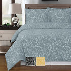 """Abripedic"" Printed Super Soft Cotton Ema Duvet Cover 3-Piece Modern Set image"