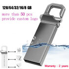 Waterproof 1GB-64GB Metal USB Flash Drive Memory Stick Storage Thumb U Disk LOT
