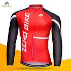 Men's Breathable Cycling Jersey Clothing Bike Bicycle Jacket Long Sleeve Tops