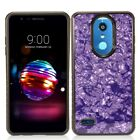 For LG K30 HYBRID IMPACT Hard Gel Fusion Hybrid Case Phone Cover + Screen Guard