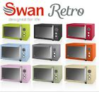 Swan Retro 25L Digital Combi Microwave with Grill SM22080