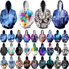 Fashion 3d Graphic Print Hoodie Men Women Hooded Sweatshirt Jumper Pullover Tops