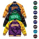 "NBA Mitchell & Ness ""Tough Season"" Retro Satin Jacket Collection Men's"