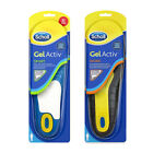 Scholl Gel Activ Insole Shoe Inserts - Mens & Ladies, Sport & Work all available