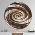 East Urban Home Designart Candy Spiral Modern Wall Clock