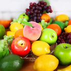 1 Mini Artificial Fruit Fake Fruits Apple Pear Peach Strawberry Cherry Home Deco