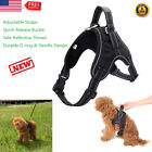 No Pull Walking Dog Pet Harness Reflective Vest Harness with D-ring Handle S M L
