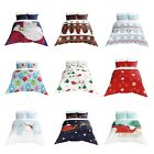 Adam Home Christmas Design 3D Digital Print Duvet Quilt Cover With Pillowcase