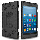 For Amazon Kindle Fire HD 8 2018 8th Gen Shockproof Armor Case+Screen Protector